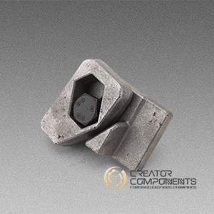 SAE 1045 Carbon Steel Construction Forging Part