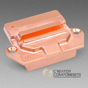 China Copper Machined Forging Parts