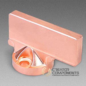 Copper Alloy Machined Forging Part, TS 16949