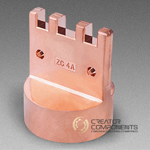 Customized Copper Machined Forging Part